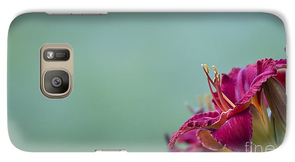 Galaxy Case featuring the photograph Fuchsia In Bloom by Andrea Silies