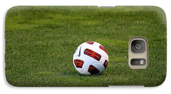 Galaxy Case featuring the photograph Futbol by Laddie Halupa