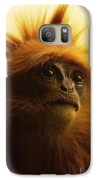 Galaxy Case featuring the photograph Fuzzhead by Xn Tyler