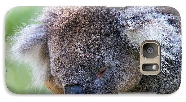 Koala Galaxy S7 Case - Fuzzy by Mike  Dawson