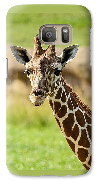 Galaxy Case featuring the photograph G Is For Giraffe by John Haldane