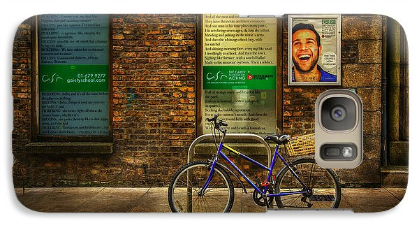 Galaxy Case featuring the photograph Gaiety Bicycle by Craig J Satterlee