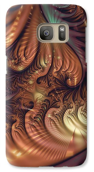 Galaxy Case featuring the digital art Gala by Michelle H