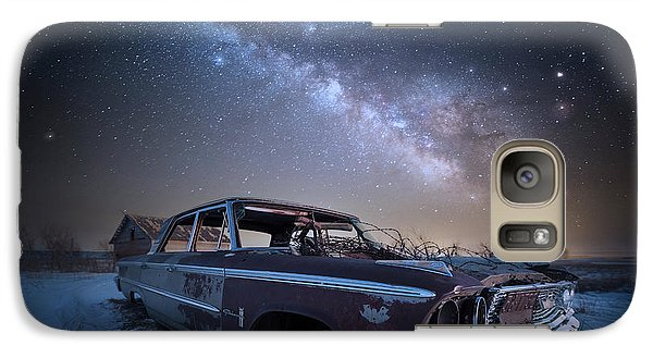 Galaxy Case featuring the photograph Galaxie 500 by Aaron J Groen