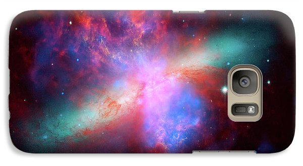 Galaxy Case featuring the photograph Galaxy M82 by Marco Oliveira