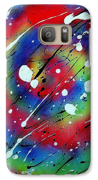 Galaxy Case featuring the painting Galaxy by Patrick Morgan