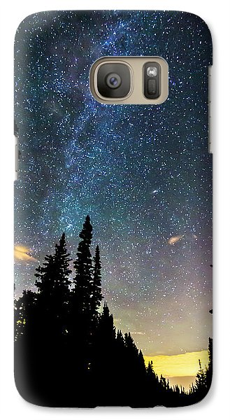 Galaxy S7 Case featuring the photograph  Galaxy Rising by James BO Insogna