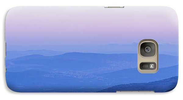 Galaxy Case featuring the photograph Galilee Mountains Sunset by Yoel Koskas