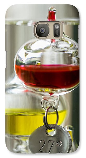 Galaxy Case featuring the photograph Galileo Thermometer by Jeremy Lavender Photography