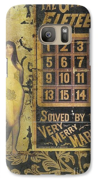 Galaxy Case featuring the mixed media Game Of Fifteen by Desiree Paquette