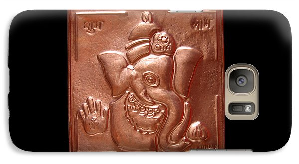 Galaxy Case featuring the relief Ganesha by Suhas Tavkar