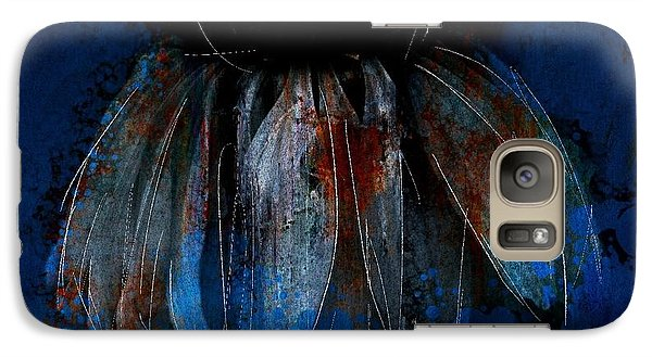 Galaxy Case featuring the photograph Garden Blue by Jim Vance