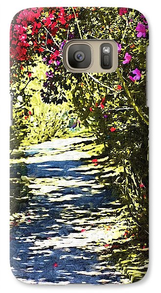 Galaxy Case featuring the photograph Garden by Donna Bentley