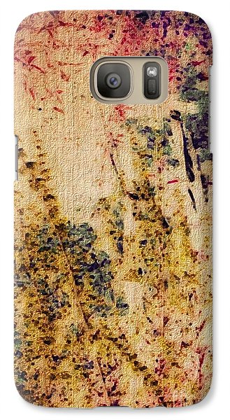 Galaxy Case featuring the photograph Garden Dreams by William Wyckoff