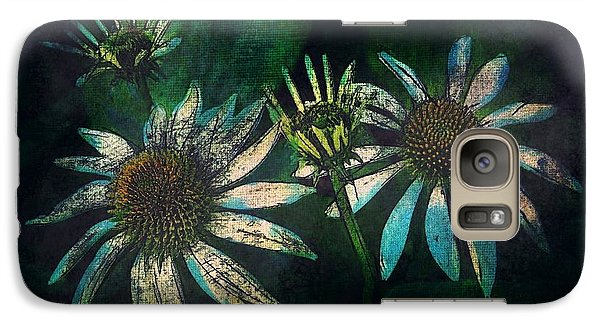 Galaxy Case featuring the photograph Garden Flowers 1 June 14 2015 by Jim Vance