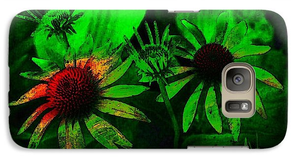 Galaxy Case featuring the photograph Garden Green by Jim Vance