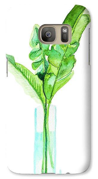 Garden Indoors Galaxy S7 Case by Roleen Senic