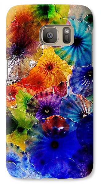 Galaxy Case featuring the photograph Garden Of Glass Triptych 3 Of 3 by Benjamin Yeager