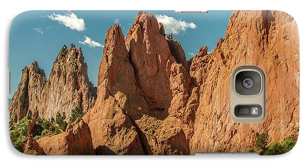 Galaxy Case featuring the photograph Garden Of The Gods by Bill Gallagher