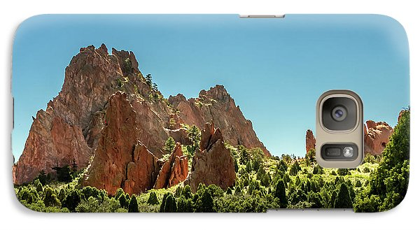 Galaxy Case featuring the photograph Garden Of The Gods II by Bill Gallagher