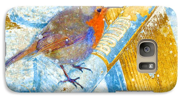 Galaxy Case featuring the photograph Garden Robin by LemonArt Photography