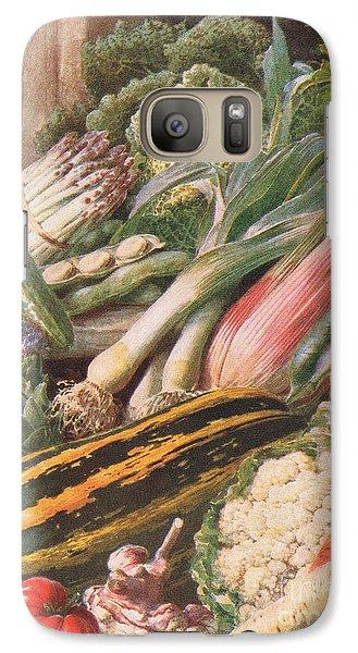 Garden Vegetables Galaxy S7 Case by Louis Fairfax Muckley