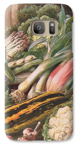 Garden Vegetables Galaxy S7 Case by Louis Fairfax Muckley