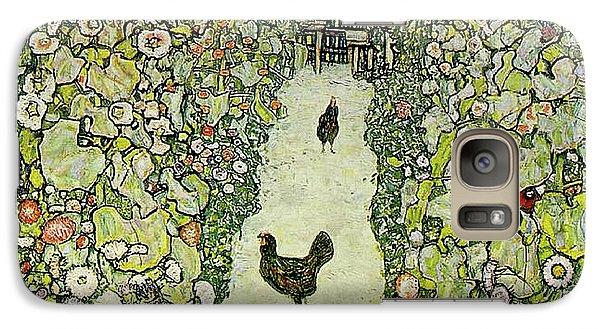 Garden With Chickens Galaxy S7 Case