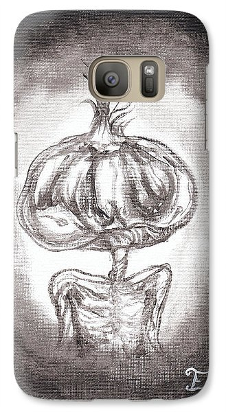 Galaxy Case featuring the painting Garlic Boy by Christophe Ennis