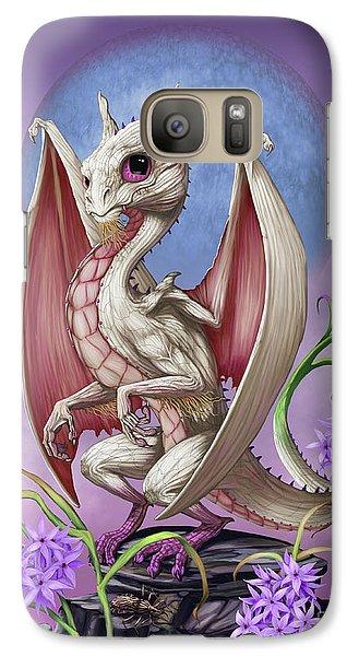 Galaxy Case featuring the digital art Garlic Dragon by Stanley Morrison