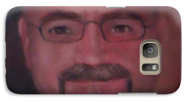 Galaxy Case featuring the painting Gary by Randol Burns