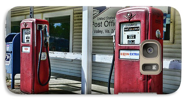 Galaxy Case featuring the photograph Gas And Mail 1 by Paul Ward