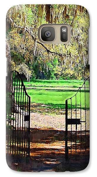 Galaxy Case featuring the photograph Gate To Heaven by Donna Bentley