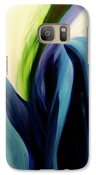 Galaxy Case featuring the painting Gate To The Garden  By Paul Pucciarelli by Iconic Images Art Gallery David Pucciarelli