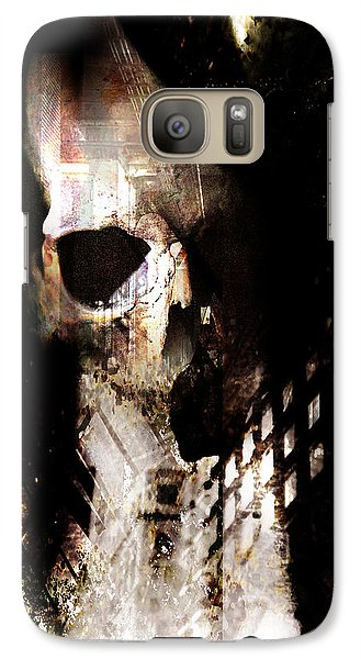 Galaxy Case featuring the photograph Gates by Ken Walker