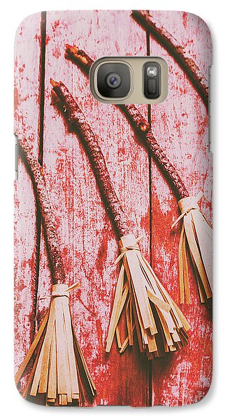 Dungeon Galaxy S7 Case - Gathering Of Evil Witches Still Life by Jorgo Photography - Wall Art Gallery