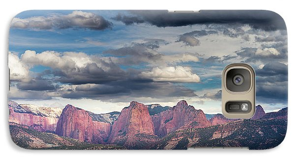 Gathering Storm Over The Fingers Of Kolob Galaxy S7 Case