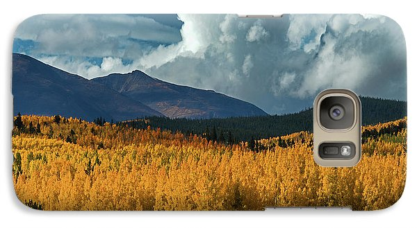 Galaxy Case featuring the photograph Gathering Storm - Park County Co by Dana Sohr
