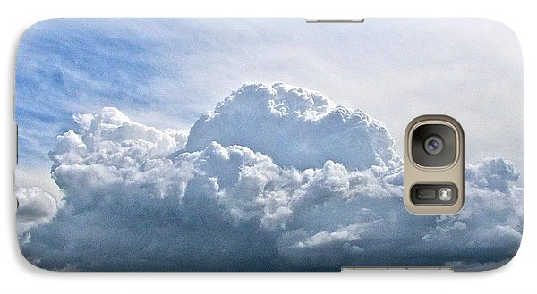 Galaxy Case featuring the photograph Gathering Storm by Sean Griffin