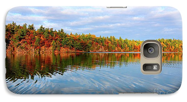 Galaxy Case featuring the photograph Gatineau Park Autumn Landscape by Charline Xia