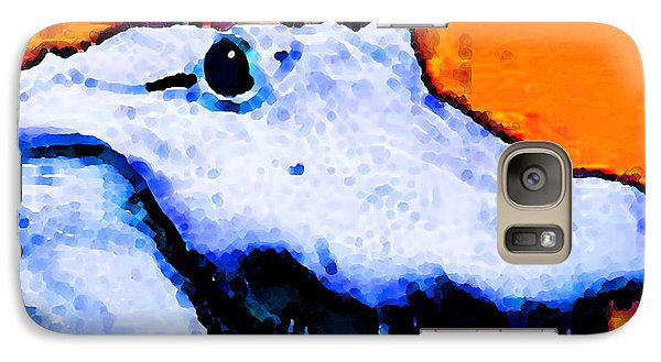 Gator Art - Swampy Galaxy S7 Case by Sharon Cummings