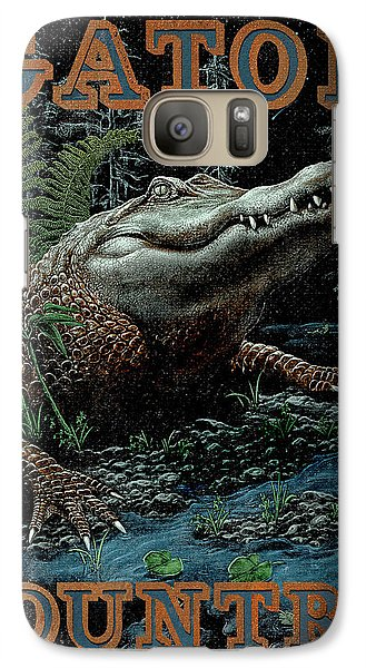 Gator Country Galaxy S7 Case by JQ Licensing