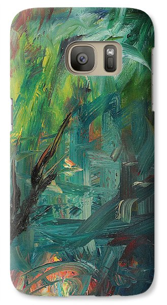 Galaxy Case featuring the painting Gaza Summer 2014 by Miriam Leah