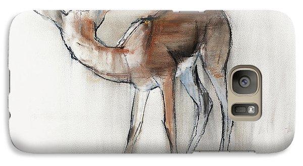 Gazelle Fawn  Arabian Gazelle Galaxy Case by Mark Adlington