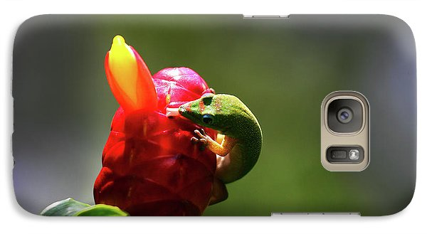 Galaxy Case featuring the photograph Gecko #2 by Anthony Jones