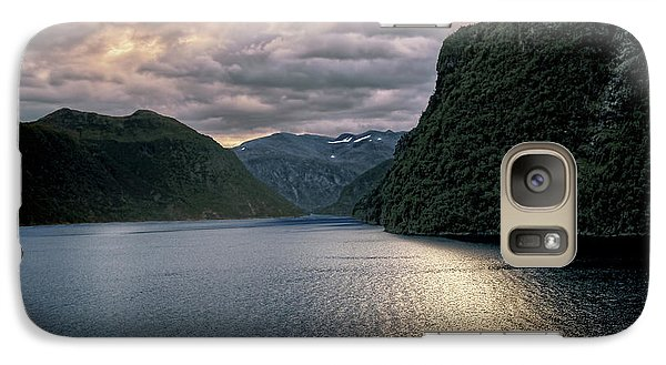 Galaxy Case featuring the photograph Geiranger Fjord by Jim Hill