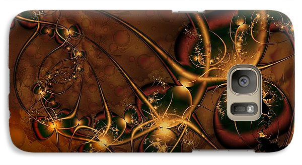 Galaxy Case featuring the digital art Gems Unearthed by Michelle H