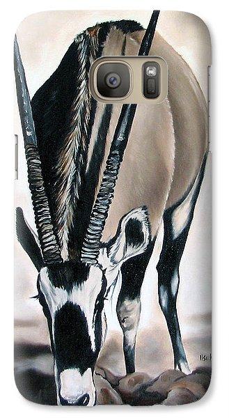 Gemsbok - Thirst Galaxy Case by Ilse Kleyn