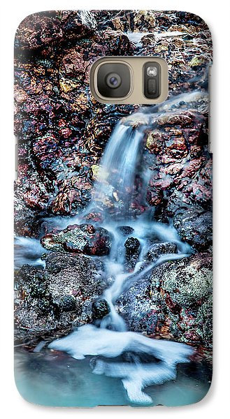 Galaxy Case featuring the photograph Gemstone Falls by Az Jackson
