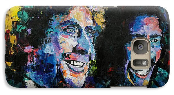 Galaxy Case featuring the painting Gene Wilder And Richard Pryor by Richard Day